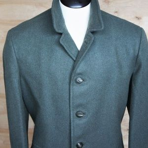 Military Issue Single Breasted Peacoat